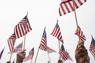 amerikai zászló (amerika, usa, zászló, )