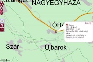 baleseti térkép (baleseti térkép)