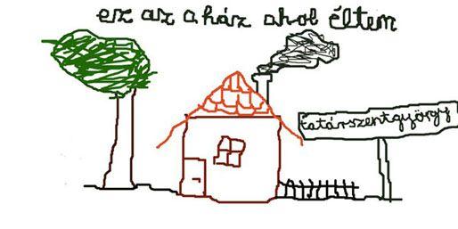 ez az a ház (arc plakát)