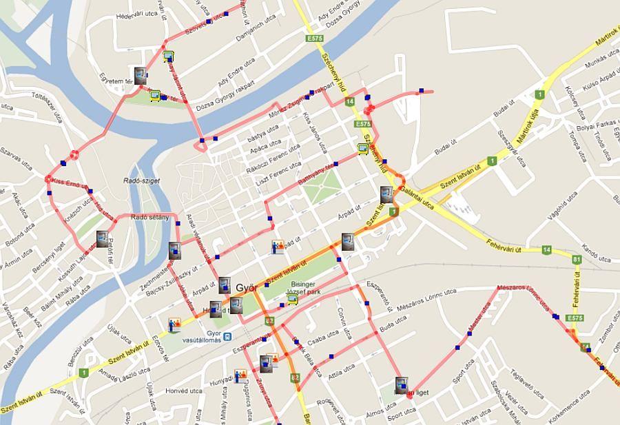 kisalföld volán (okosbuszok, győr, közlekedés, térkép)