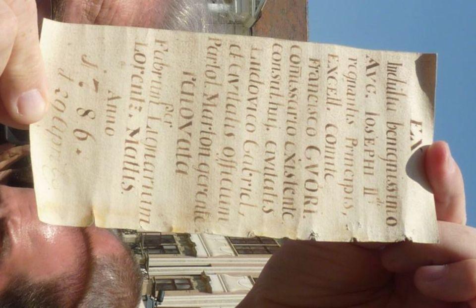 papírtekercs-sopron (tűztorony, papírtekercs 1786)