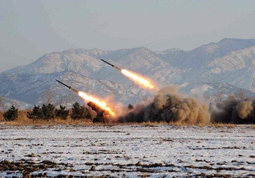 rakétateszt (észak-korea, rakéta, rakétateszt)