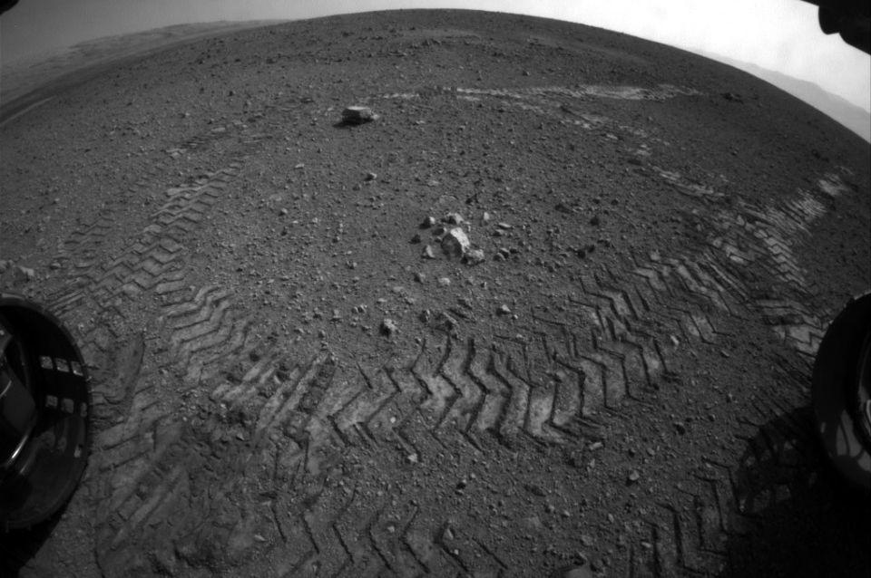 Curiosity nyoma (Curiosity keréknyoma)