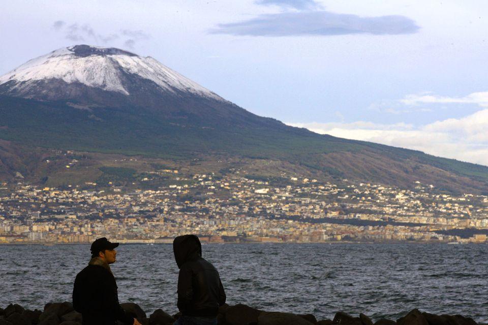 Nápoly vulkán (nápoly, vulkán, )