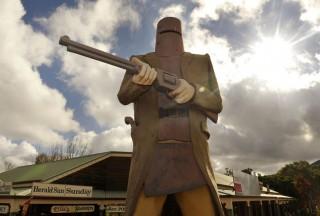 Ned Kelly szobor (ned kelly, szobor, )