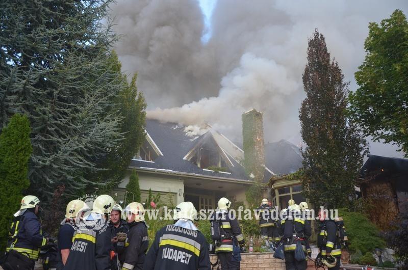 Tűz Budakeszin (Array)