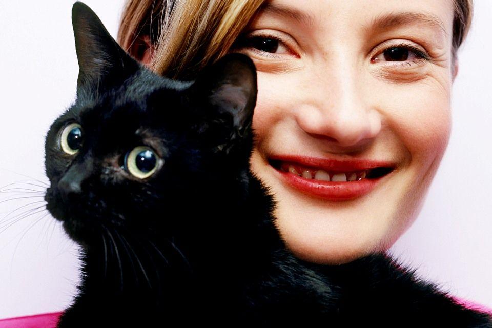 fekete macska (fekete cica)