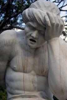 szomorúság (szomorúság, szobor)