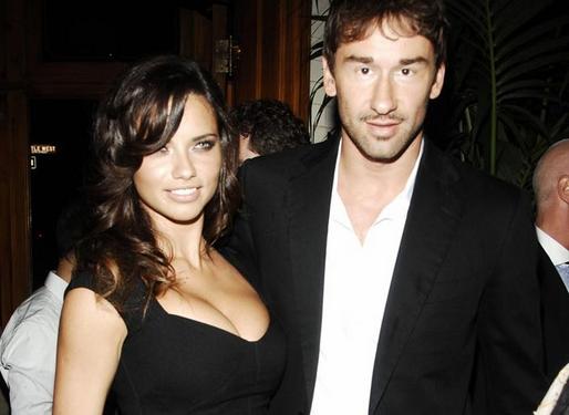 Adriana Lima & Marko Jaric (adriana lima, )