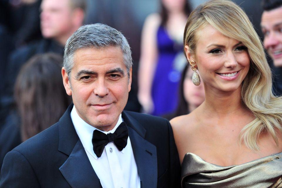 George Clooney-Stacy Keibler (George Clooney-Stacy Keibler)