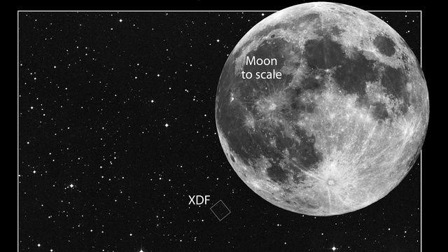Hubble XDF összehasonlítás (hubbe, xdf, )