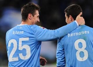 Miroslav Klose, Hernanes (miroslav klose, hernanes, lazio, )