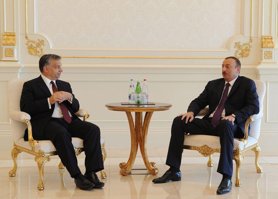 Orbán Viktor Azerbajdzsánban (orbán viktor, azerbajdzsán, )