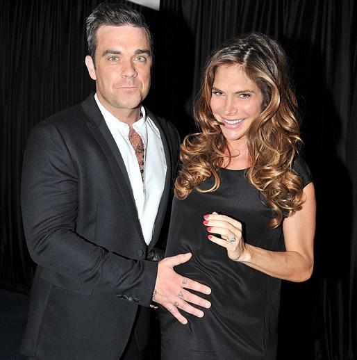 Robbie Williams & Ayda Field (robbie williams, )
