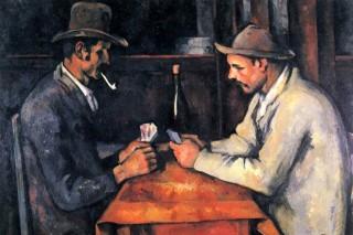 cezanne-kártyázók (cezanne  kártyázók című műve)