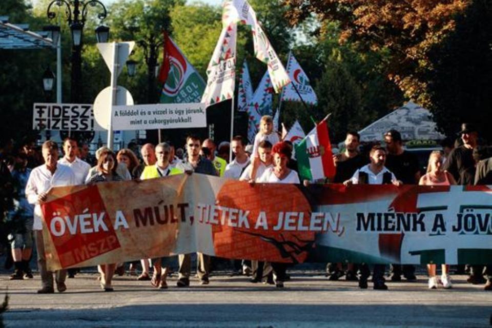 jobbik-tüntetés-fehérvár (jobbik-tüntetés székesfehérváron)