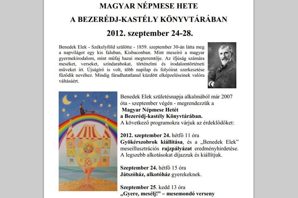 magyar népmese hete (magyar népmese hete)