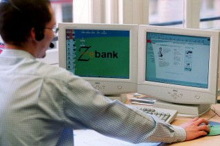 netes bankolás (internet bank, bank, internet, számítógép, )