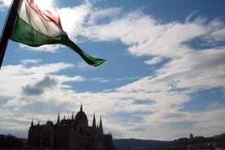 parlament-zászló-duna (parlament, )