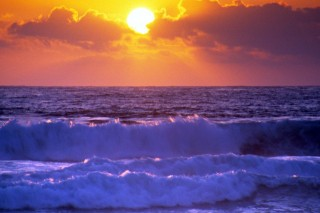 tenger (naplemente, )