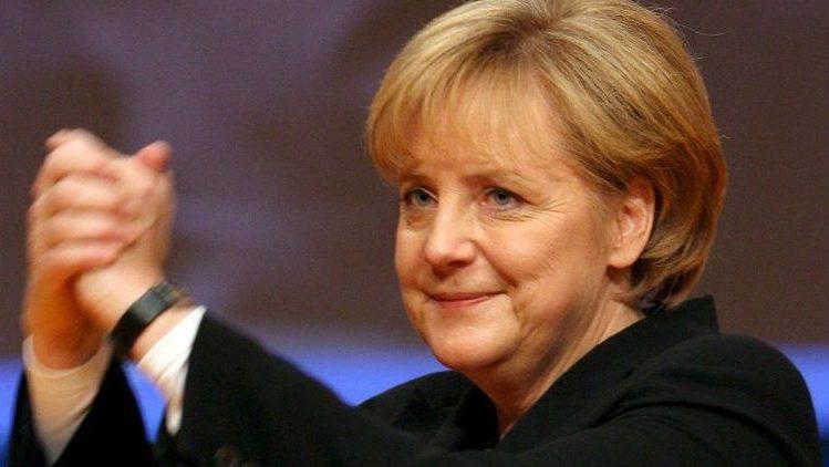 Angela Merkel (angela merkel, kancellár,)