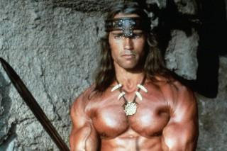 Arnold Schwarzenegger (Conan, a barbár)