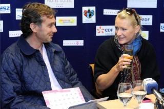 Douchev-Janics Natasa férjével (ingyenes, Douchev-Janics Natasa és férje)