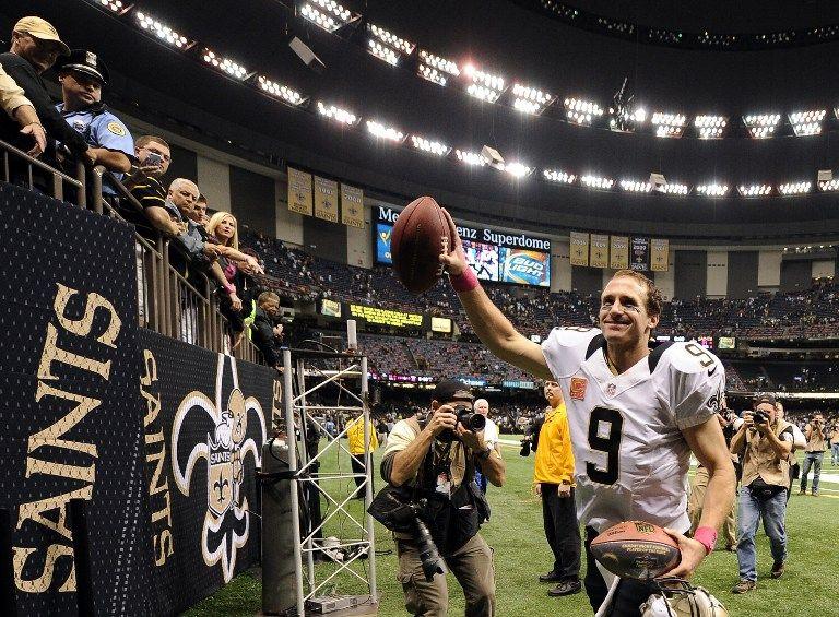 Drew Brees (Drew Brees, touchdown rekord)