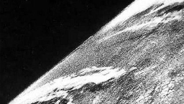 Első űrfelvétel (űr, v-2, űrfelvétel, )