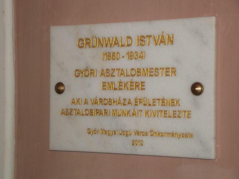 Grünwald emléktábla (Grünwald emléktábla)