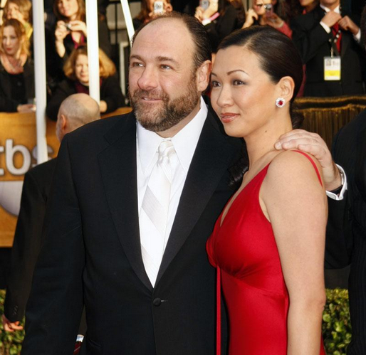 James Gandolfini & Deborah Lin (james gandolfini, )