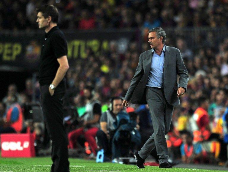 Jose Mourinho (tito villanova, jose mourinho, el clásico, )