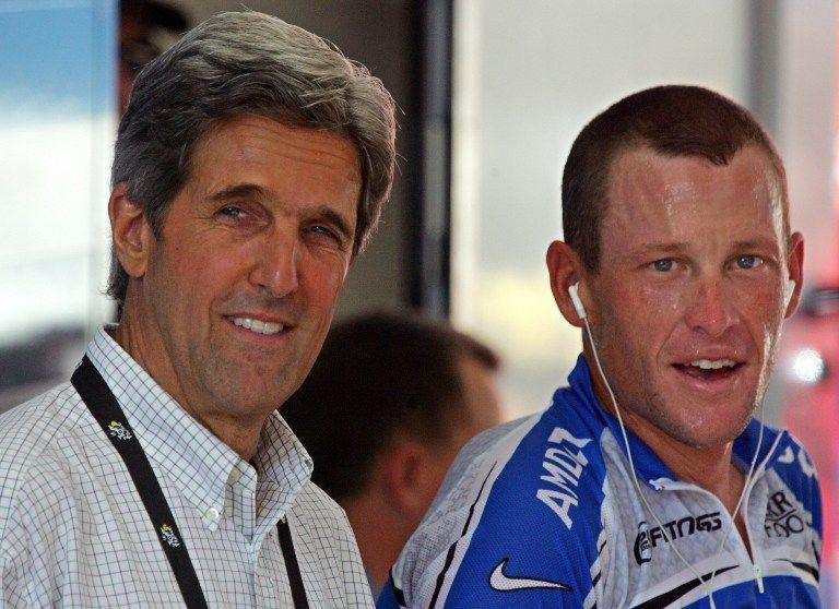 Lance Armstrong (lance armstrong, john kerry, )