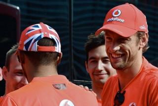 Lewis Hamilton, Jenson Button (lewis hamilton, jenson button, )