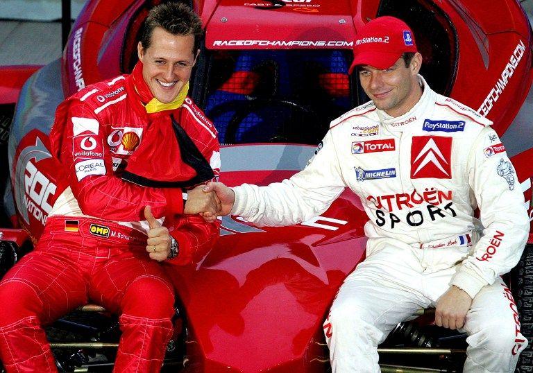 Michael Schumacher, Sebastien Loeb (michael schumacher, sebastien loeb, )