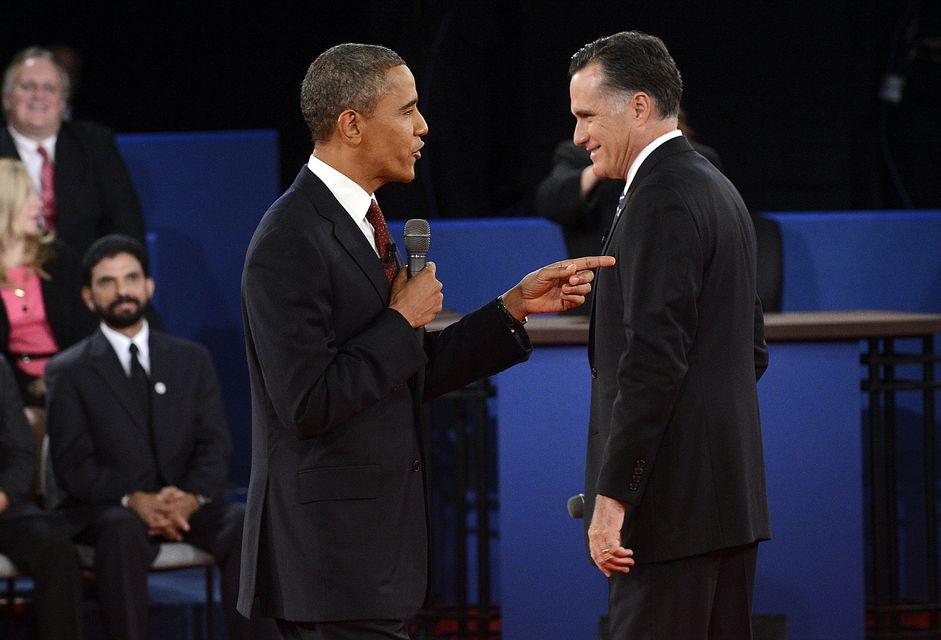 Obama és Romney (barack obama, mitt romney, )