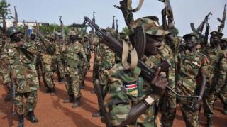 Szudáni hadsereg (szudán, katonák, hadsereg, )