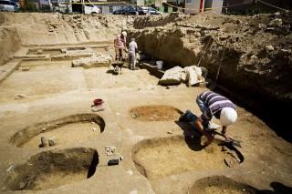ásatás (ásatás, régészet, feltárás, )