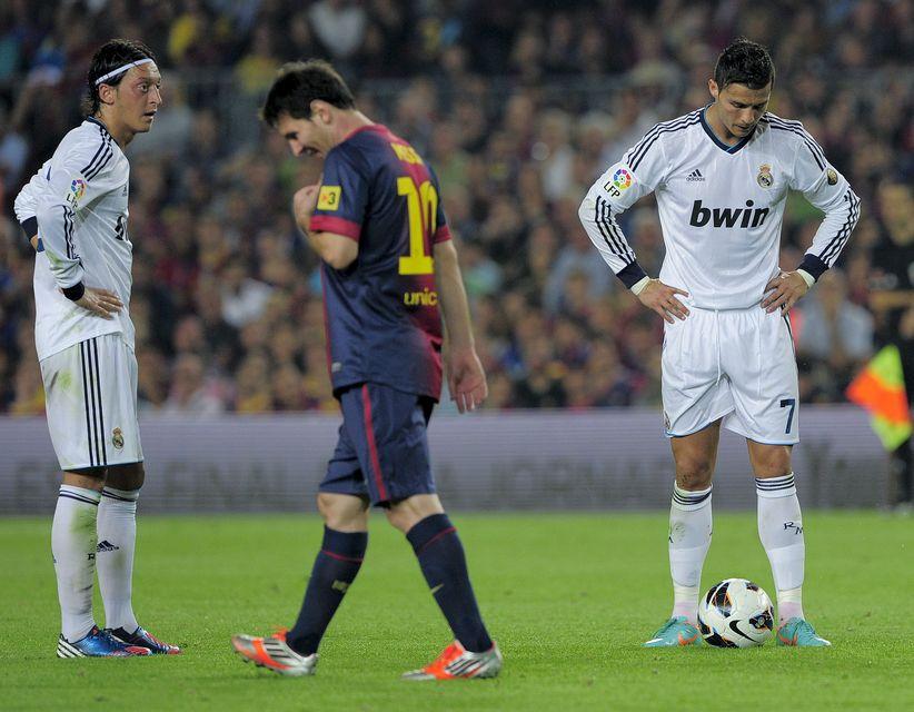 barcelona real madrid (barcelona, real madrid, lionel messi, cristiano ronaldo)