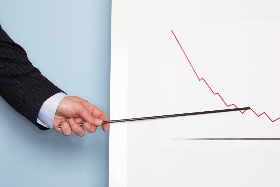 grafikon (csökkenő grafikon)