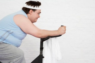 kövér férfi (túlsúlyos, )