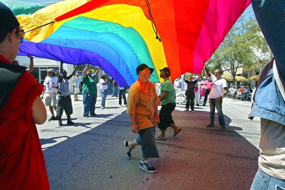 szivárvány-zászló (Coming Out Day)