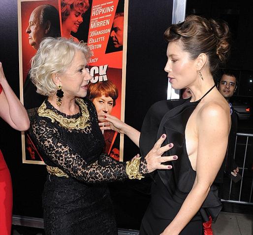 Jessica Biel & Helen Mirren (jessica biel, helen mirren, )