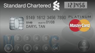 MasterCard Display Card (mastercard, display card, hitelkártya, bankkártya, okosbankkártya, )