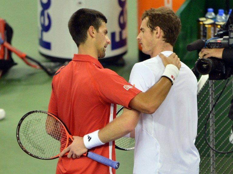 Novak Djokovic, Andy Murray (novak djokovic, andy murray, )