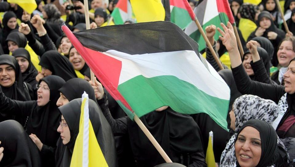 Pelesztina (Palesztina, palesztin zászló)