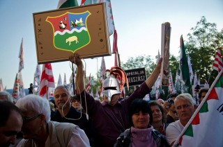 Piréz tüntető (piréz, pirézia)