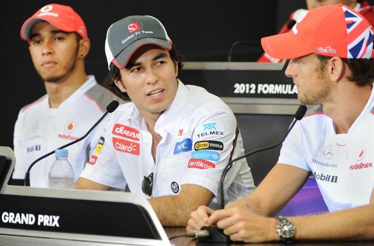 Sergio Perez, Jenson Button (sergio perez, jenson button, lewis hamilton, )