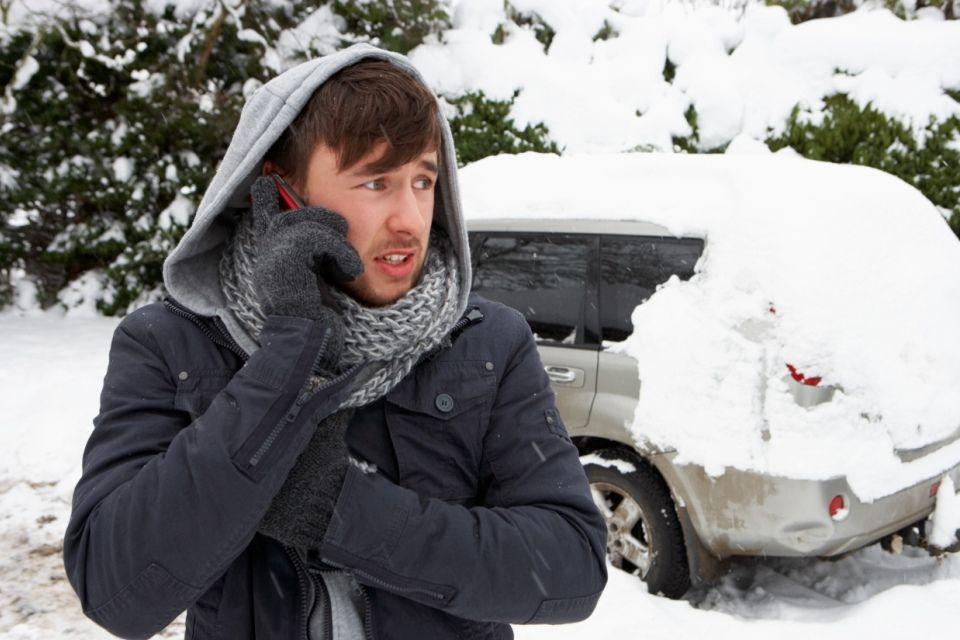 hó (havazás, )