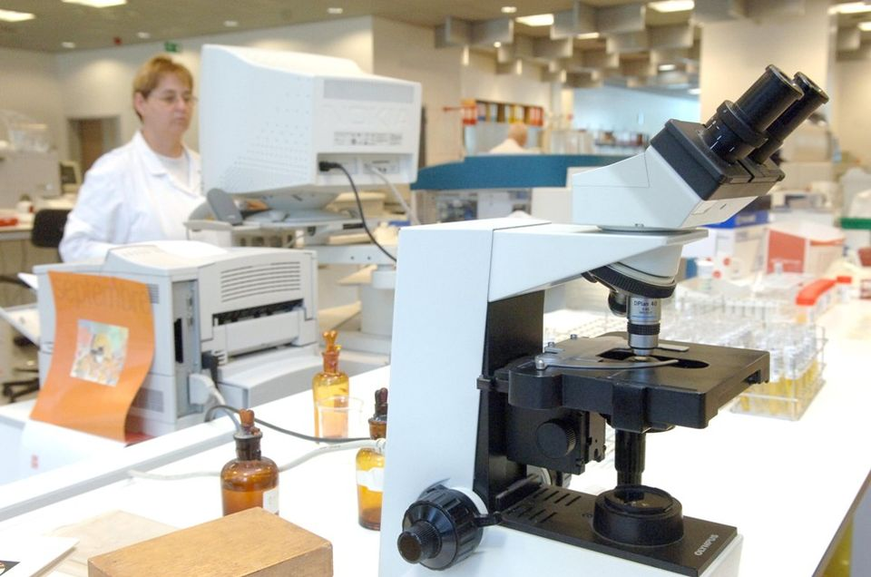 laboratórium (mikroszkóp, )